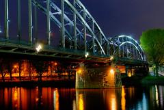 Frankfurt east at night (Stefan - Fotografie) Tags: 35mm nikon frankfurt nikkor f18 hdr ffm d80