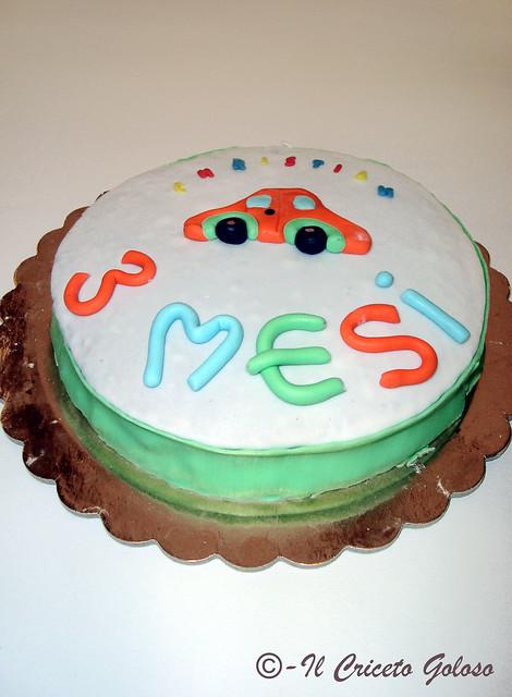Torta 3 mesi Christian