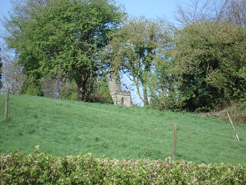 Thornton Church from the pathway
