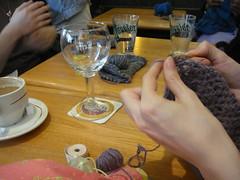 Ca crochète et ça tricote