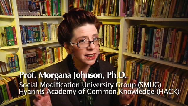 Morgana Johnson, Ph.D., S.M.U.G., H.A.C.K.