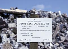 San Francisco Dump Artist in Residence Exhibitions: Work by Scott Kildall, Niki Ulehla and Alex Nichols