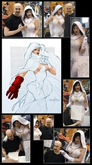Ghost by Franchesco! (BelleChere) Tags: sketch costume artist cosplay ghost darkhorse bellechere franchesco c2e2