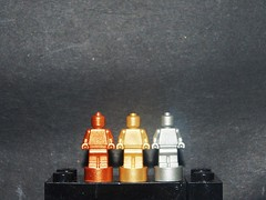 And the Winner is... (Fennicienta) Tags: bronze silver gold lego plata winner oro bronce ganador minifigures