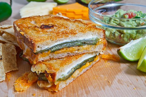 Jalapeno Popper Grilled Cheese Sandwich 1 500