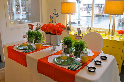 Kelley Moore Table Setting via for the love of design