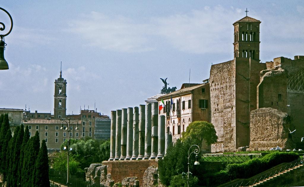 Roman Forum and Santa Francesca Romana
