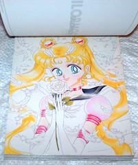 SAILOR MOON 1997 Manga Postcard i (Cruioso) Tags: anime art japanese manga postcards 1990s sailormoon 90s sailorscouts magicalgirl senshi naokotakeuchi  prettysoldier