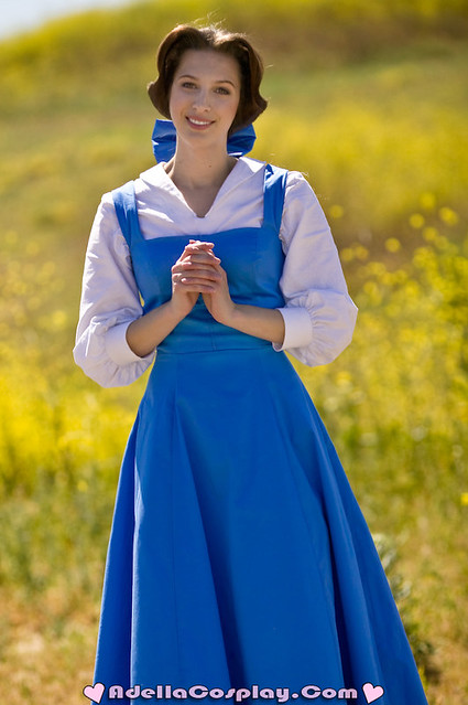 Cosplay__Peasant_Belle_by_Adella