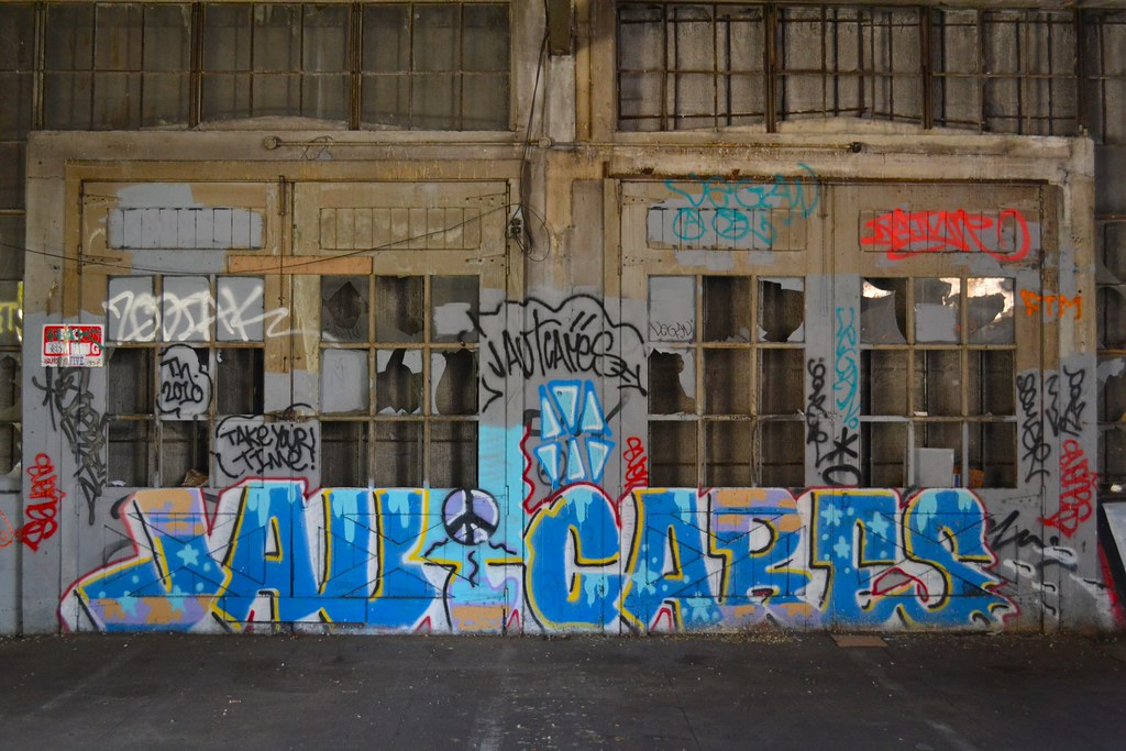 JAUT CARES, Graffiti, Oakland, Street Art