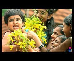 Happy Vishu (g sivaprasad) Tags: kids happy april childrens vishu konnappoo sivaprasad medam gsivaprasad