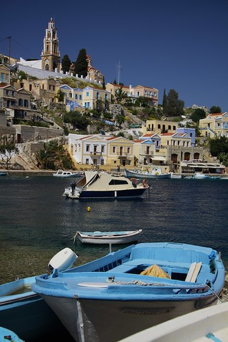 Symi harbour