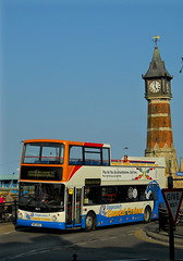 17677 at the clock tower in skegness (martin 65) Tags: buses open top stagecoach skegness 17677