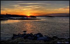 Beautiful Evening (johanbe) Tags: sky cloud color nature water rock landscape nikon heaven natur sten vatten marstrand solnedgng landskap moln kunglv hdrsunset nikond90 tjuvkil d90hdrsunset