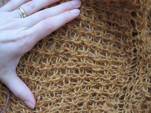 Eddie's Laminaria shawl