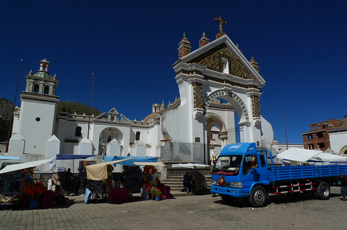 Blessing of the Vehicles - Copacabana, Bolivia