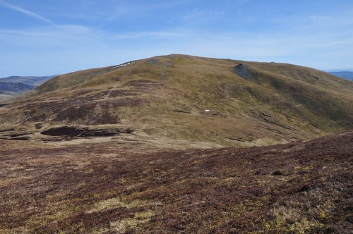 Meall a' Choire Bhuidhe from Meall Ruigh Mor Thearlaich