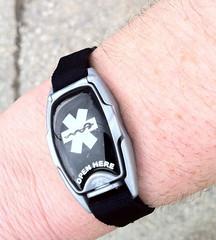 Runner ID bracelet