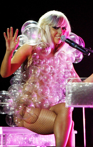 Lady Gaga Bubble Dress. lady gaga bubble dress