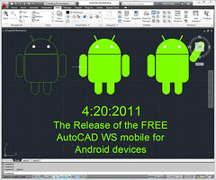 Andy the Android in AutoCAD 2012