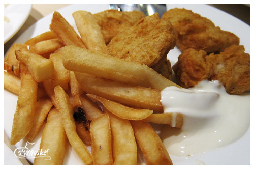 nuggets and fries