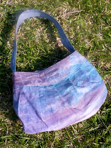 Purple Buttercup Bag