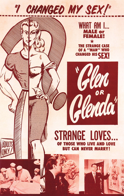 139-Glen-or-Glenda by Mofo Posters