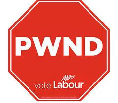 Labour campaign PWND