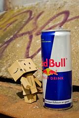 Need some energy ? (Zaskars) Tags: toy amazon pentax sigma 100 1770 redbull jouet yotsuba danbo revoltech k10d danboard