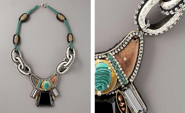 Sachin + Babi Vernazza Snakeskin Necklace