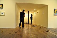 Install (FloodingFactory) Tags: chicago art flux installation artshow tapes cassettes mixtapes groupshow coprosperitysphere tapeinstallation