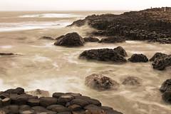 Giants Causeway (dareangel_2000) Tags: ocean ireland sea castle heritage history rocks folklore northernireland giants nationaltrust legend myth giantscauseway causeway basalt volcanicrock norniron northcoast dunluce coantrim basaltcolumns finnmccool dunseverick dariacasement geo:lat=55229555800000010000 geo:lon=6410877700000015000 geo:dir=000 giantseyes spiniardrock