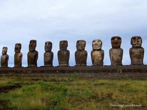 Easter Island Maoi Statues