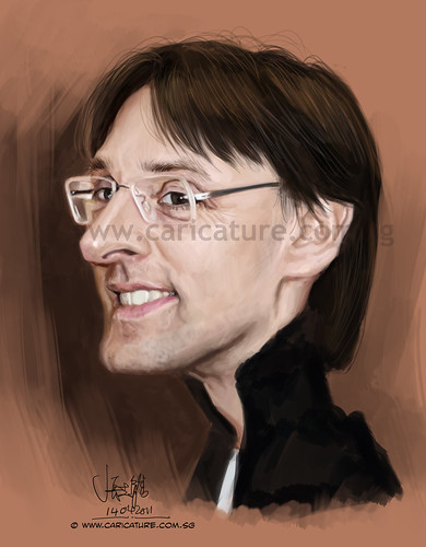 Caricature for ToonPool client (watermark)
