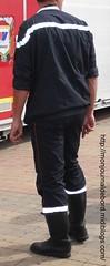 Pompier bottes