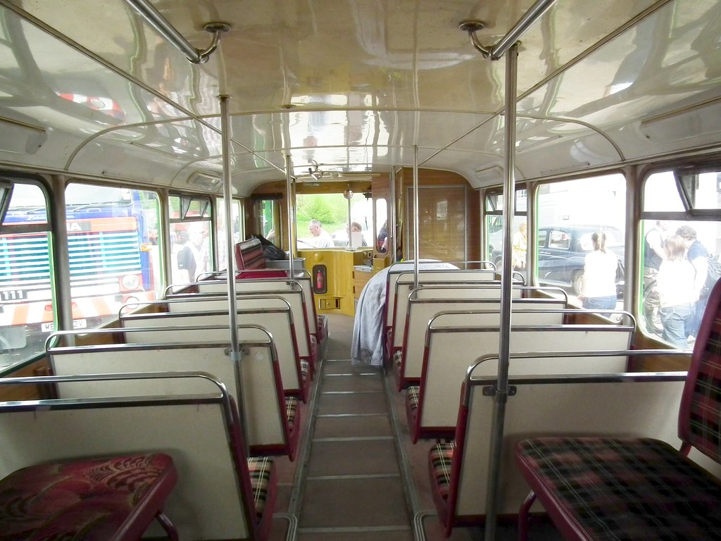 Eastern Scottish DD294 Interior Downstairs 23 April 2011