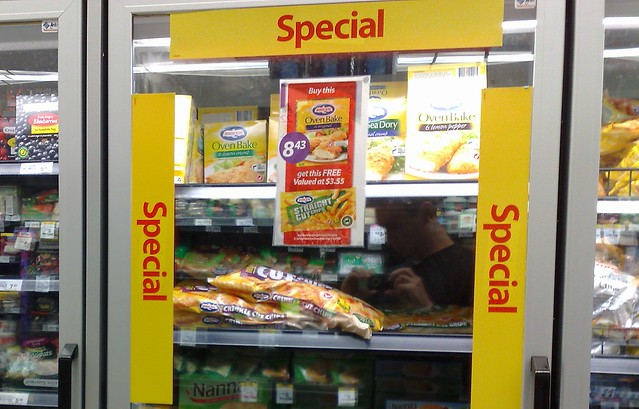 Specials in Safeway/Woolworths