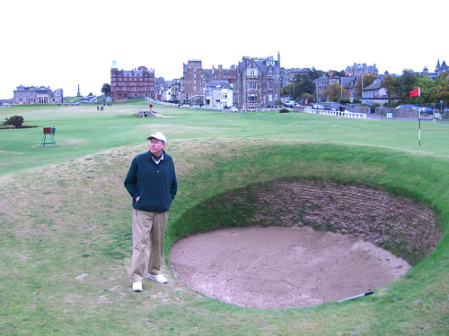 Paul and the Road Hole Bunker