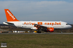 G-EZBR - 3088 - Easyjet - Airbus A319-111 - Luton - 110314 - Steven Gray - IMG_0932