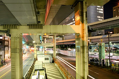 Tanimachi Junction - 17 (Kabacchi) Tags: night tokyo highway  nightview expressway  interchange      jct tanimachijunction ~tanimachijunction~