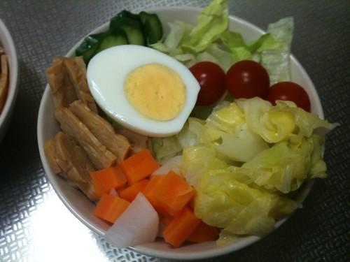 朝食サラダ(2011/4/28)