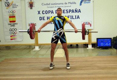 Achaf Mohamed Halterofilia Melilla