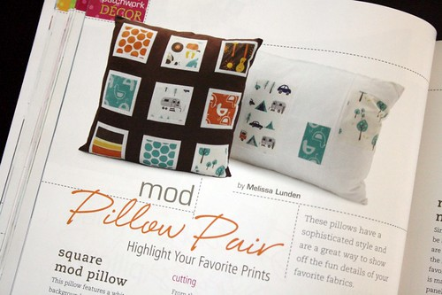 Mod Pillow Pair