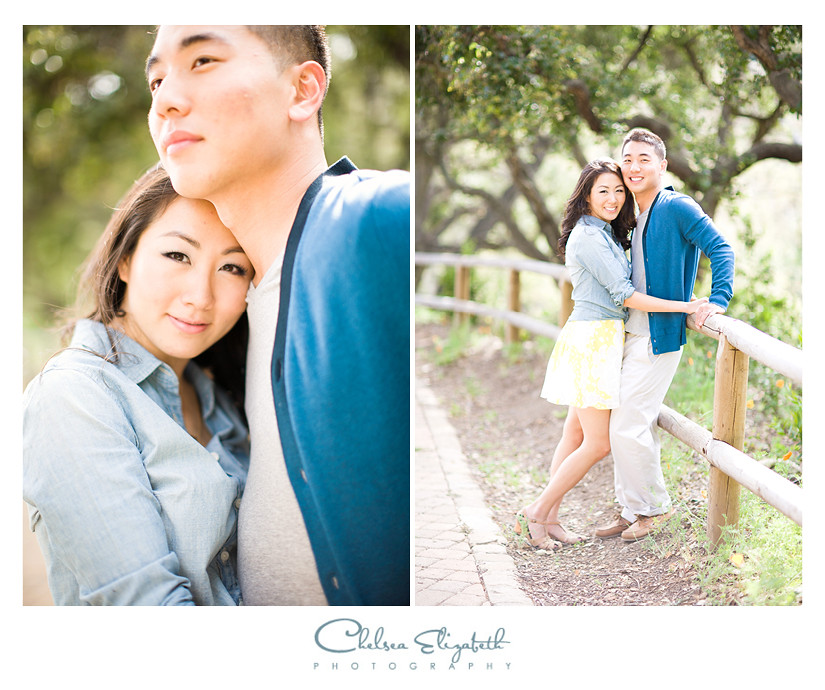 santa barbara engagement photographs