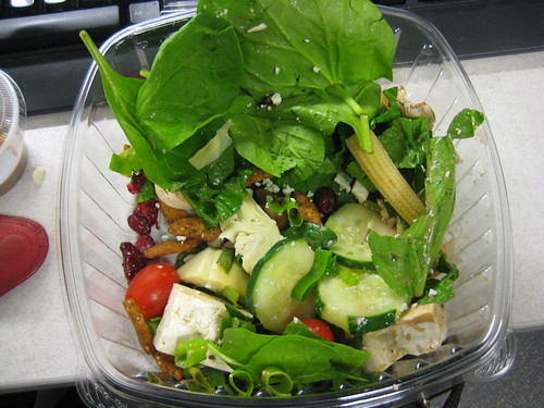 salad from salad bar