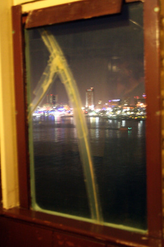 Queen Mary - Promenade Deck - Broken Window