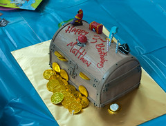 Matthew's Pirate Birthday cake