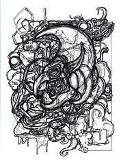 Smurfmare (Wayne Chisnall) Tags: smurf smurfmare waynechisnall chig chisnall chisnell oodlesofdoodles doodles dr