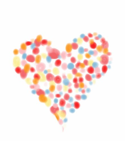 Dotty digital heart