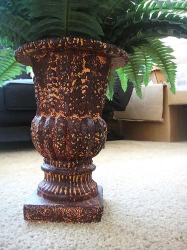 Thrifty Ceramic Vase